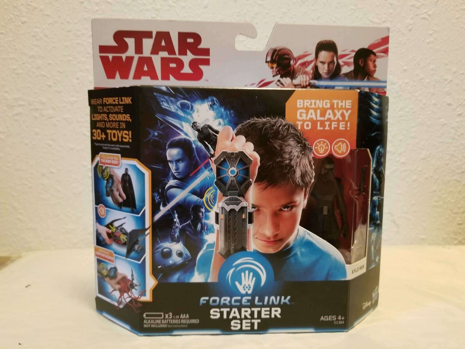 Star Wars Force Link First First First Order Special Forces Tie Fighter With Force Link... 055544