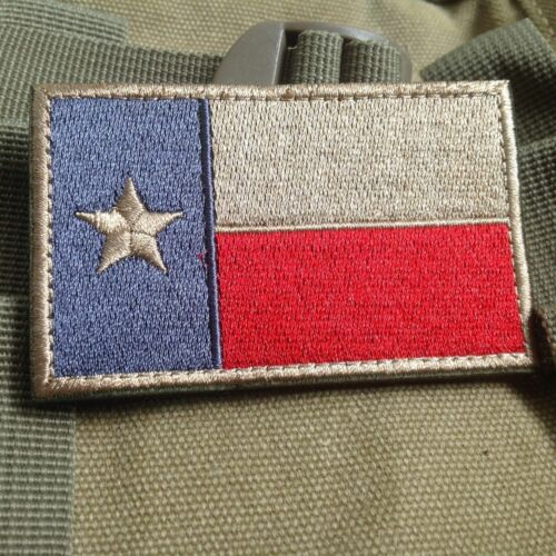 America The Republic of Texas Flag BADGE USA U.S Texas Flag PATCH Patches