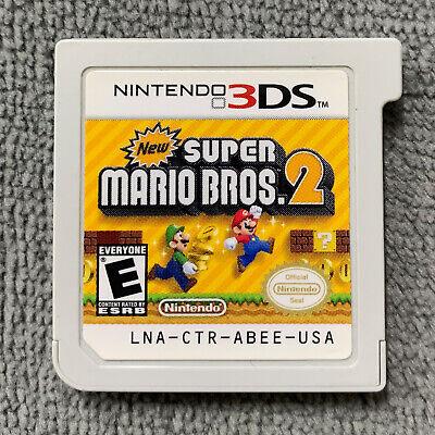 New Super Mario Bros  2 for Nintendo 3DS, 2DS Original USA [Game Cartridge  Only] | eBay