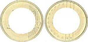 Netherlands Lack Coinage Only On Outer Ring Embossed Without Pill, Prfr