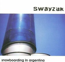 SWAYZAK Snowboarding In Argentina CD NEW RE SWZCD001 electronic techno house