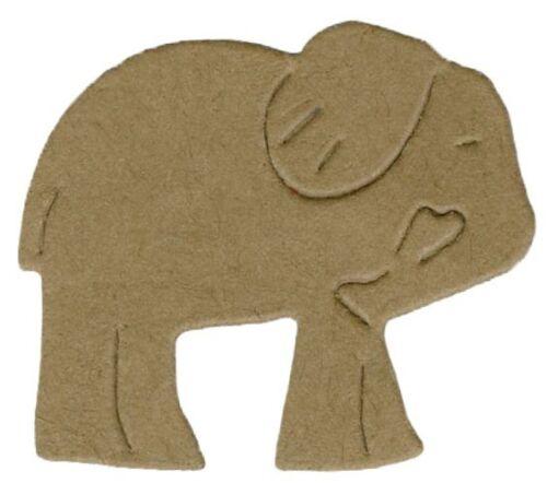 """Quickutz//Lifestyle Crafts DS0298 /""""Elephant Cracker/""""  1   2x2 Die  NEW"""