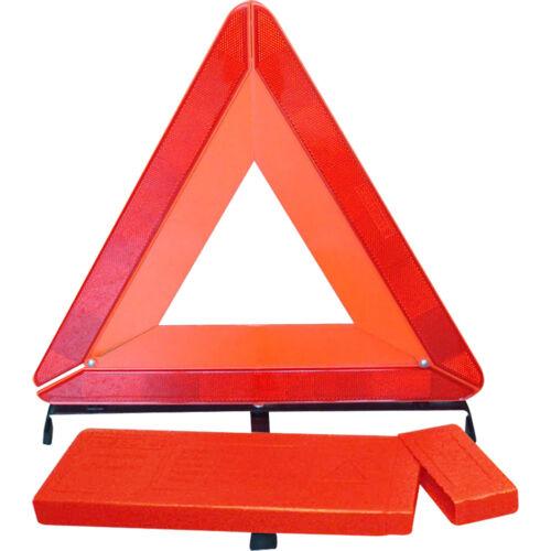 LARGE WARNING TRIANGLE REFLECTIVE ROAD EMERGENCY BREAKDOWN SAFETY HAZARD CAR NEW