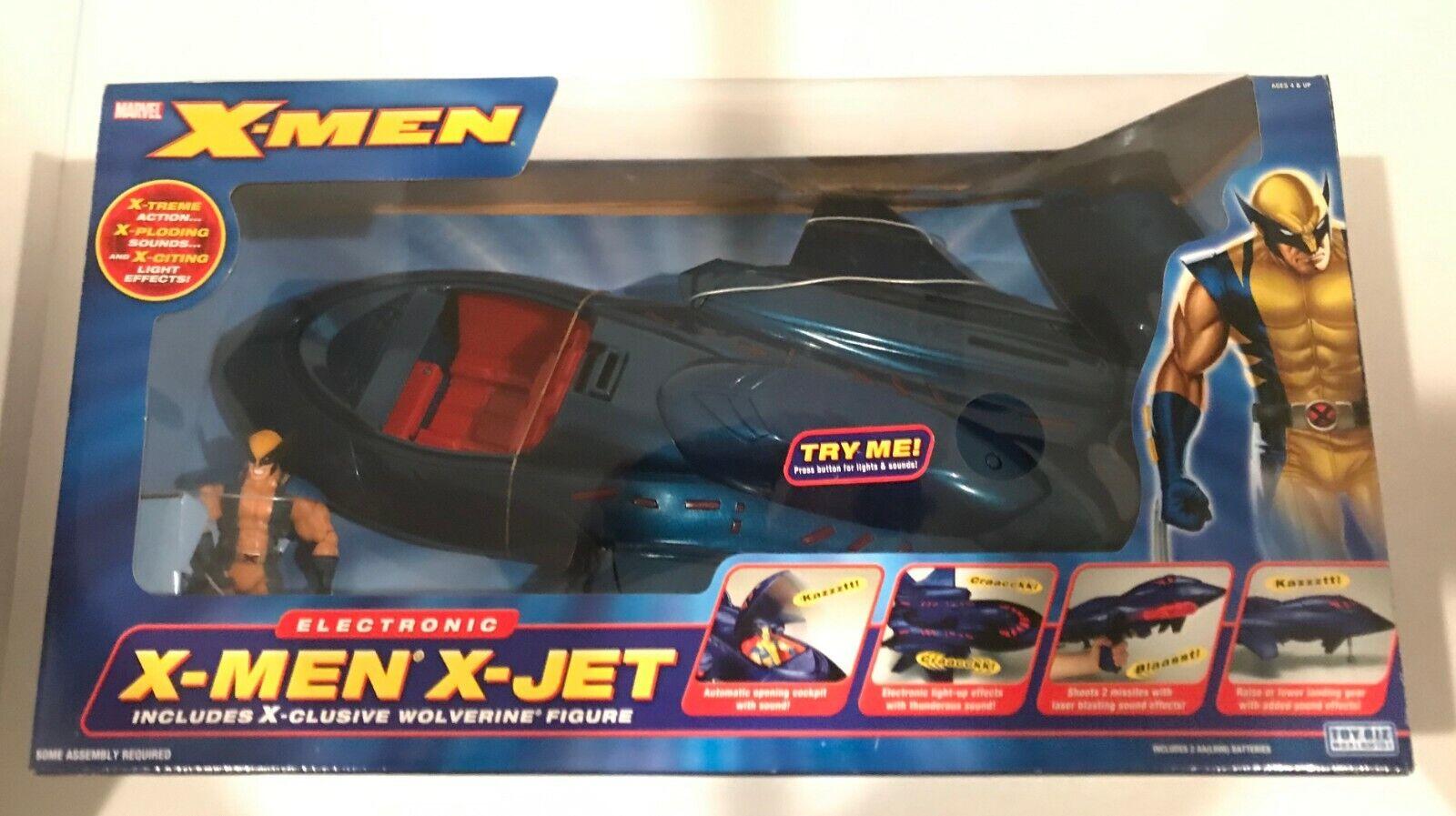 VINTAGE giocattoloBIZ ELECTRONIC Xessi JET  WOLVERINE cifra 2005 FACTORY SEALED RARE