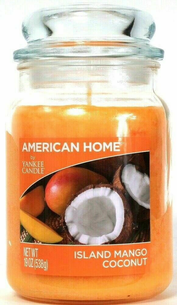 American Home By Yankee Candle Island Mango Coconut 350ml Medium Jar Delivery For Sale Online Ebay