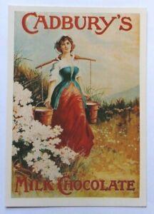 Postcard,Art Print, Cadbury's Milk Chocolate,Mumbles Railway Cards,advertising