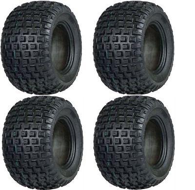 (4) GO KART  MINI BIKE TIRES  145 70 6  Set of 4 tires