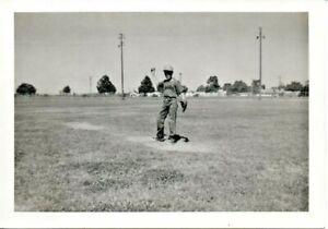 Lodi-CA-Boy-With-Senators-Jersey-Pitching-A-Baseball-Photo-1940s