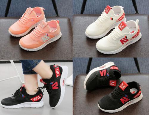 Unisex Kids Boys Girls Casual Breathable Sneaker Child Sport Running Walk Shoes