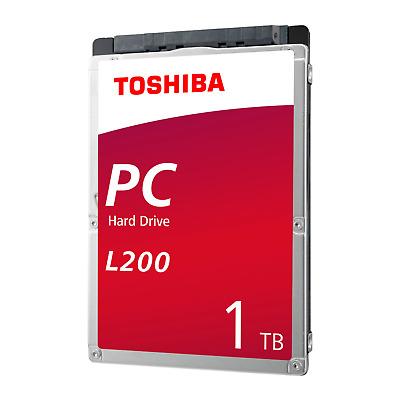 Toshiba L200 Slim HDWL110UZSVA - 1TB 5400rpm 128MB SATA600 2.5zoll Bulk