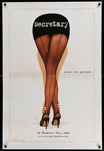 SECRETARY-2002-Movie-Poster-27x40-Double-Sided-MoviePoster-Indie-IndieFilm