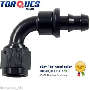AN-6-6AN-JIC-AN6-90-Degree-Push-On-Socketless-Fuel-Hose-Fitting-Black