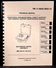 Army Manual Simpson 467 Anpsm 45 Digital Multimeter