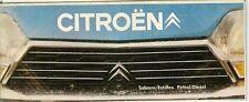 Citroen 1976-77 UK Market Small Format Foldout Brochure 2CV Dyane Ami GS CX