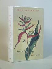 JANE STEVENSON - signed - Several Deceptions 1st/1st HB DW 1999 four novellas