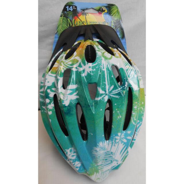 Adult Bicycle Bike Helmet Multi Color Tropical Floral New Margaritaville 14