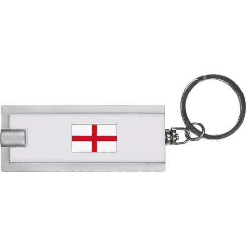 /'England Flag/' Keyring LED Torch KT00014393