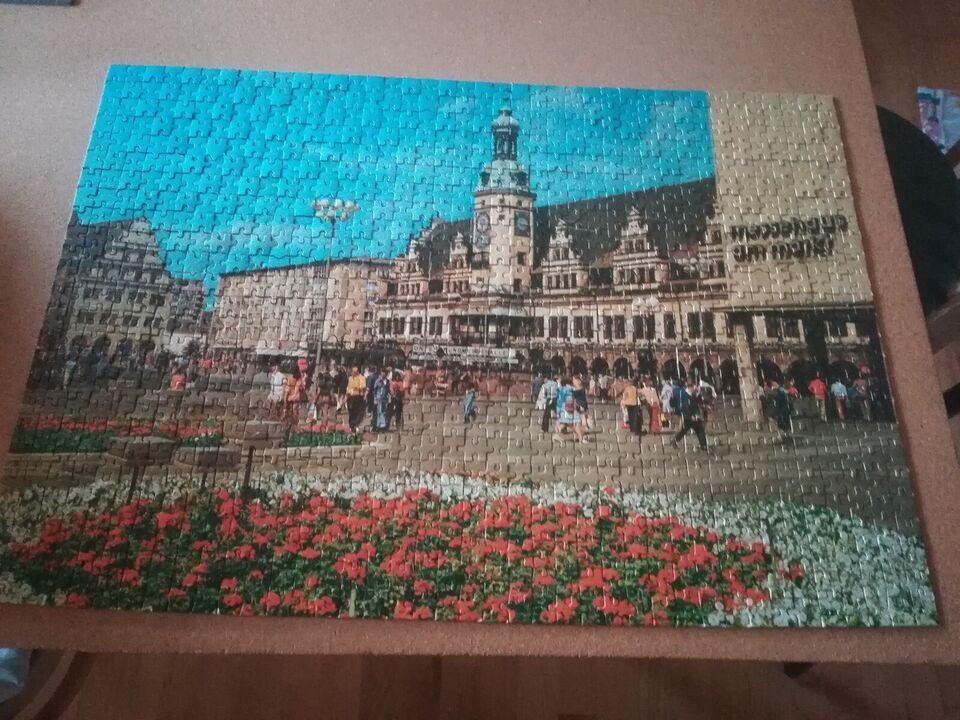 Markt & Rathaus, Leipzig, 1.000 brikker