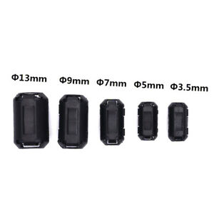 5pcs-Clip-on-Ferrite-Ring-Cable-Clips-Core-RFI-EMI-Noise-Suppressor-Filter-Be-ME