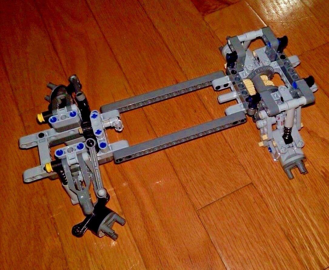 LEGO Chassis Technical Chassis davanti Government Retro Differenziale Sospensione - nuove parti