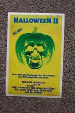 Halloween Part 2 Lobby Card Movie Poster Jamie Lee Curtis John Carpenters Yellow