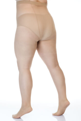 Plus size Tights LIDA 20 DEN Hips up to 170 cm! 2XL to 5XXL Over Size