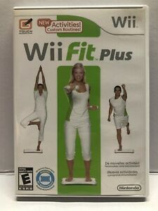 Wii Fit Plus (Nintendo Wii 2009) - Complete w/ Manual - Clean & Tested Free Ship