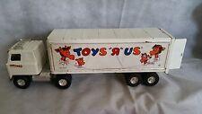 1980's Vintage International Transtar TOYS R US Semi Truck Tractor Trailer Ertl