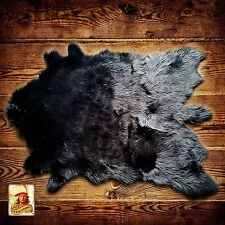 White Tail Deer Skin Accent Rug - Premium Faux Fur - Shag - Hide - Sheepskin
