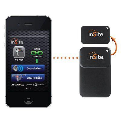 InSite Bluetooth GPS tracker Anti-Loss Alarm Ultra Thin for Keys, Wallet, Auto