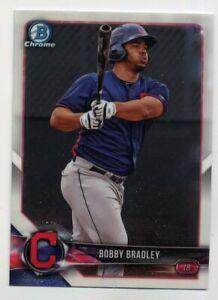 2018-Bowman-Chrome-BOBBY-BRADLEY-Rookie-Card-RC-BCP24-Cleveland-Indians-PROSPECT