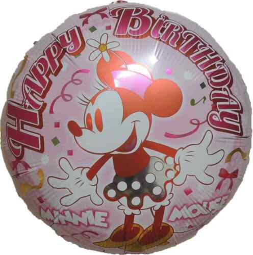 MINNIE MOUSE BALLOON PARTY LOLLY BAG TREAT BOX FILLER GIFT DECOR CENTERPIECE TOY