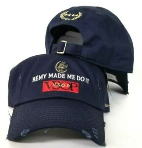 1ed6221e1 Details about Remy Made Me Do It By Field Grade Navy Distressed DAD Hat  Snapback Strapback