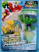 MARVEL SUPER HERO MASHERS MICROS 2 PACK HULK VS LOKI