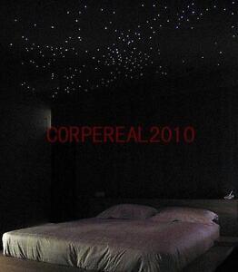 diy multi color led lamp fiber optic lighting 150 strand star