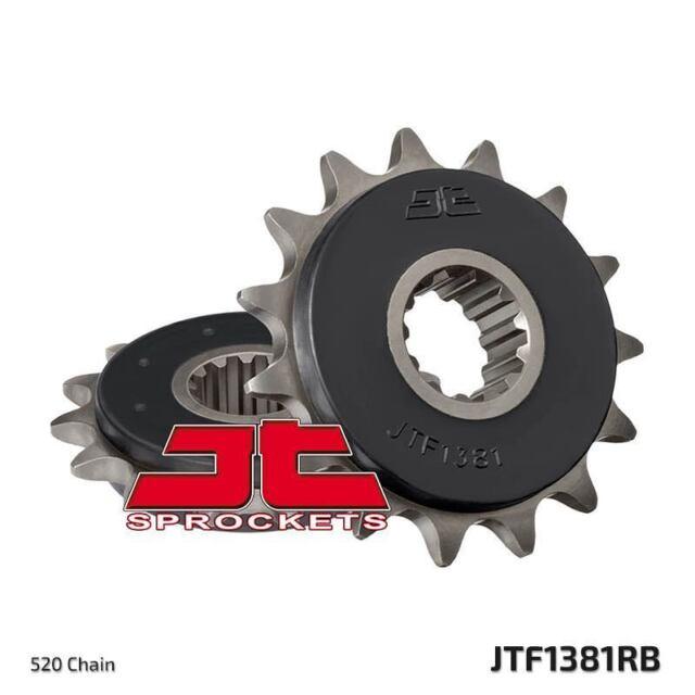 Piñón Con Goma Delantero JTF1381.15RB Honda CBR500 R/RA-D,E,F,G,H 2013-2017