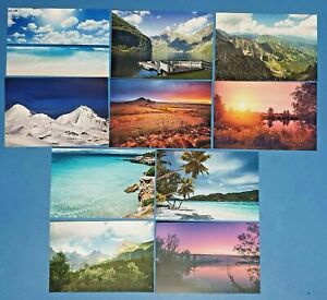 Set-of-10-NEW-Scenery-Postcards-great-for-Postcrossing-amp-Postcardsofkindness