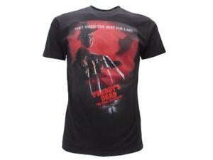 T-Shirt-Originale-Nightmare-on-Elm-Street-ufficiale-maglia-maglietta-nera