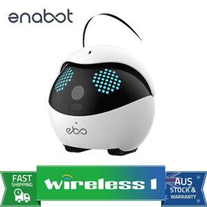 Enabot Ebo Catpal The Smart Robot Cat Toy Companion Standard Luxury Set - White