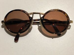 1ddad8f7e43 Image is loading Vintage-CAZAL-MOD-644-OVAL-GOLD-with-Tortoise-