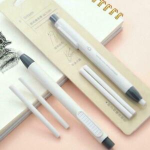 Многоразовая ручка форма резина тип пресса механические ластик для школа Канцелярия F3D4