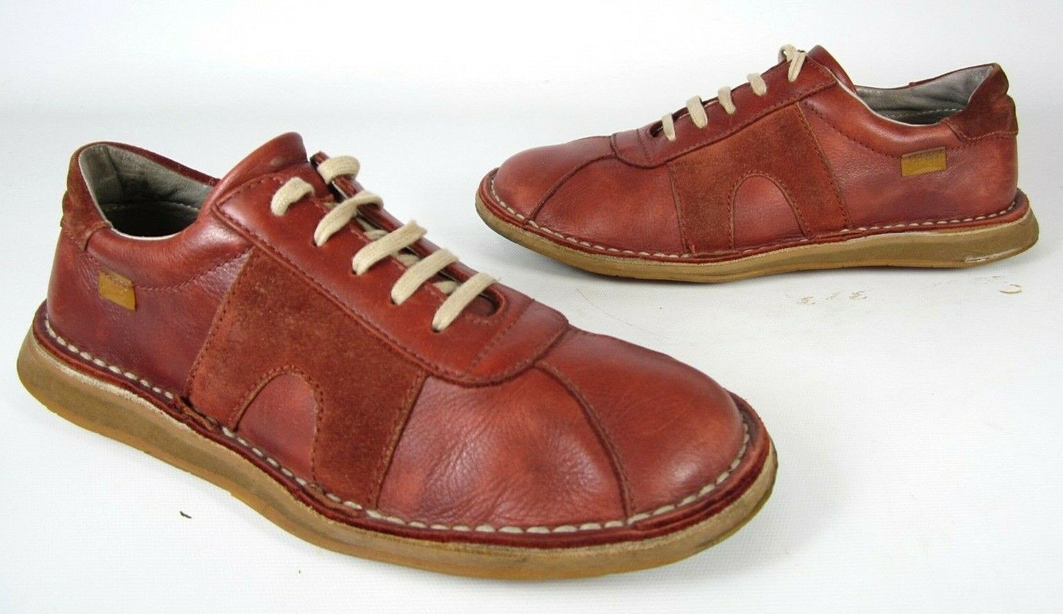 CAMPER LEATHER LACE UP CASUAL OXFORDS SNEAKERS WOMEN'S SHOE SIZE 8