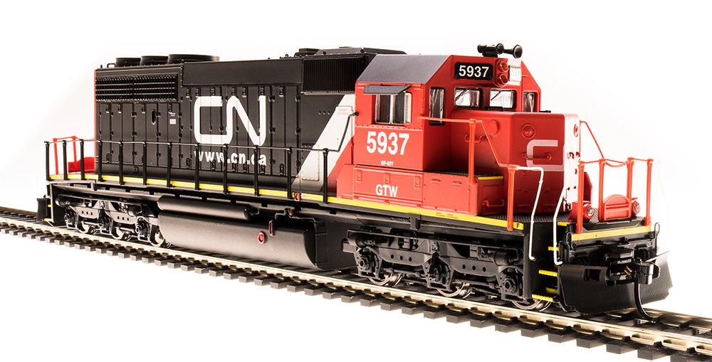 HO Scale BROADWAY LTD 5367 CANADIAN NATIONAL SD40-2   5937 DCC & PARAGON 3 SOUND