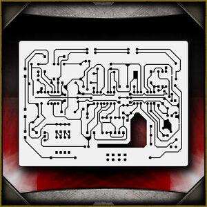 details about circuit board 2 airbrush stencil template airsickDetails About Circuit Board 2 Airbrush Stencil Template Airsick #1