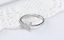 1ct Round Cut Diamond Engagement Ring 14k White Gold Over Butterfly Shape Design