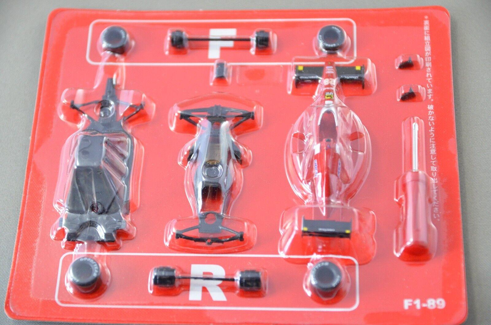 1 64 Kyosho Ferrari F1 89 No.28 G.Berger 1989 tärningskast modelllllerler bil