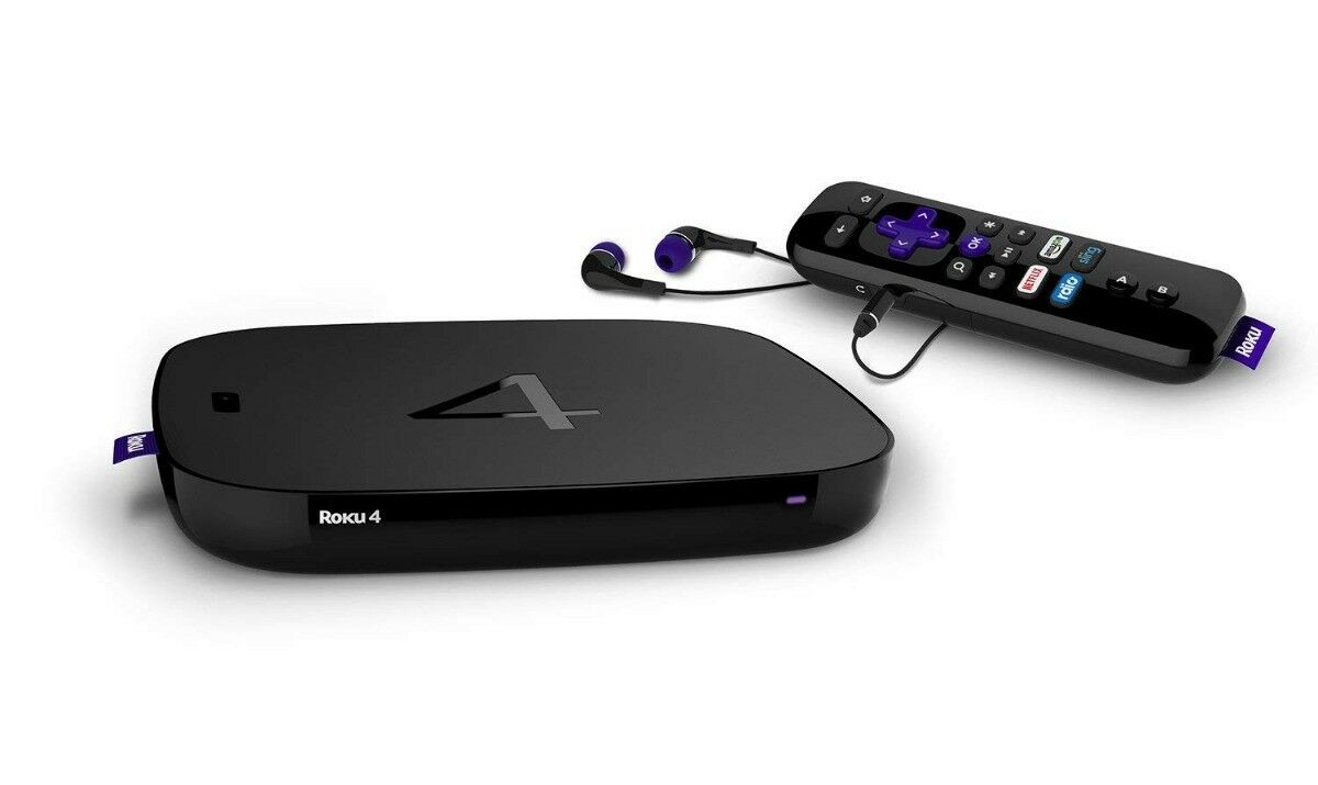 Roku Multimedia Streaming Media Player with 4K Resolution & Voice Remote #4660R Featured