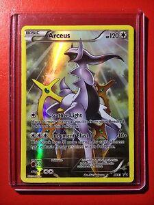Pokemon card full art arceus promo holo xy83 ultra rare ex black star m ebay - Pokemon arceus ex ...