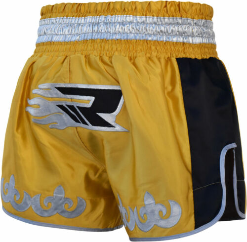 RDX Muay Thai Fight Shorts MMA Grappling Kick Boxing Trunks Martial Arts ML