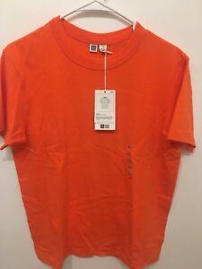 0bfc206af189 NEW Uniqlo U Lemaire Crewneck Cotton Short Sleeve T-Shirt Men XS ...